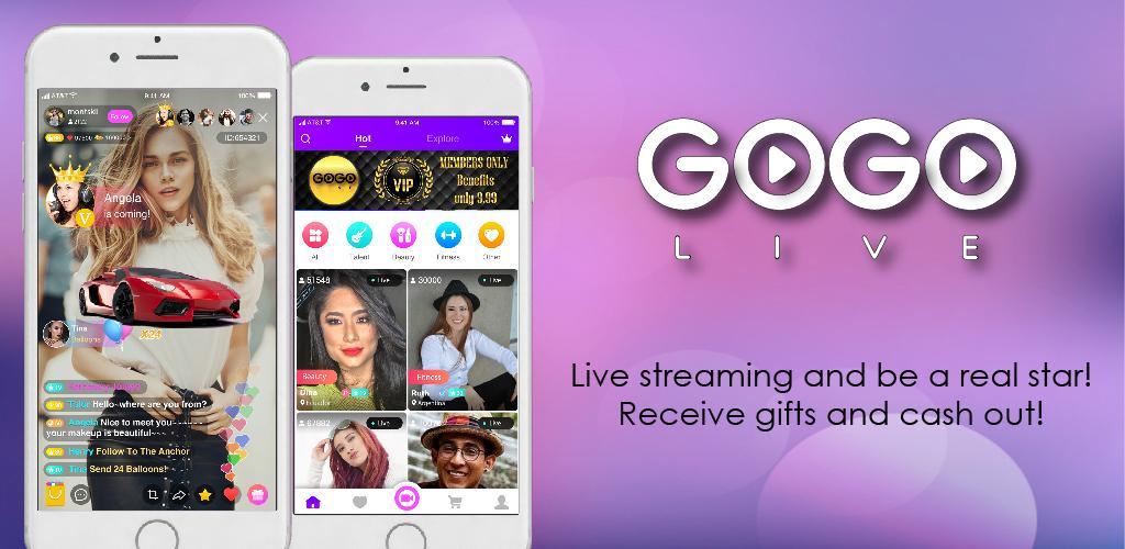 GOGO LIVE 2 9 1-20190608 Apk Download - com gogolive APK free