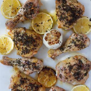 Lemon Herb Roasted Chicken.