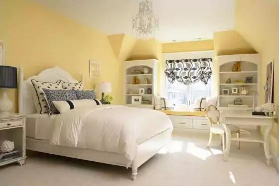 warna cat kamar tidur krem
