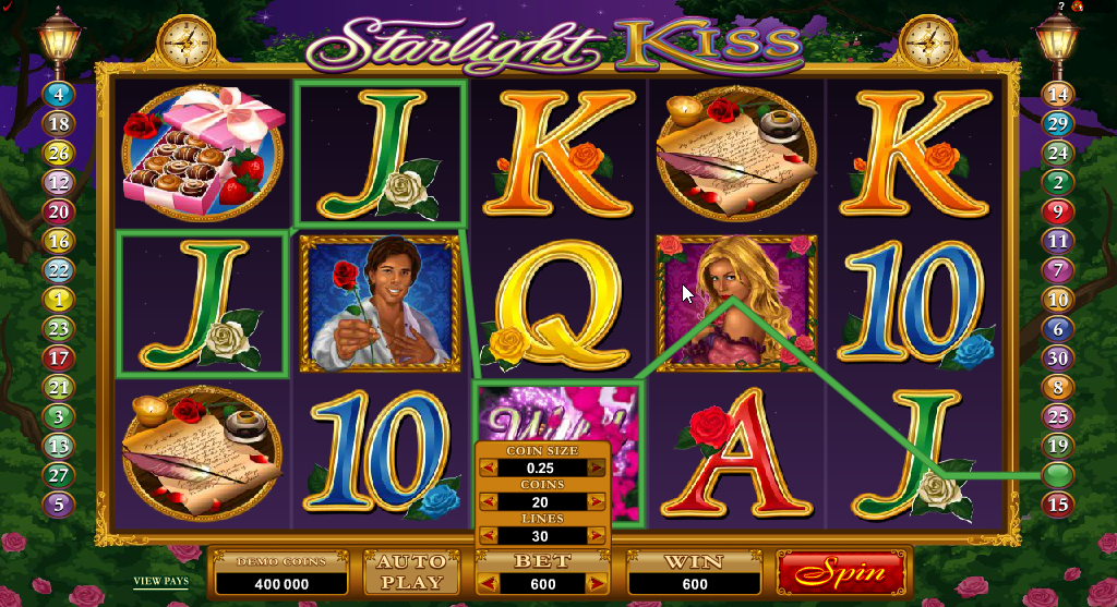 Starlight Kiss Slots Game Review
