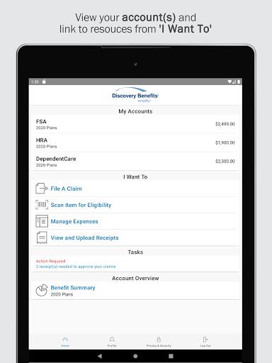 Discovery Benefits Mobile screenshot 4