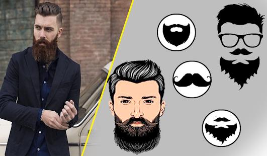 Man Hair Mustache Style Boy Photo Editor Aplikasi Di Google Play