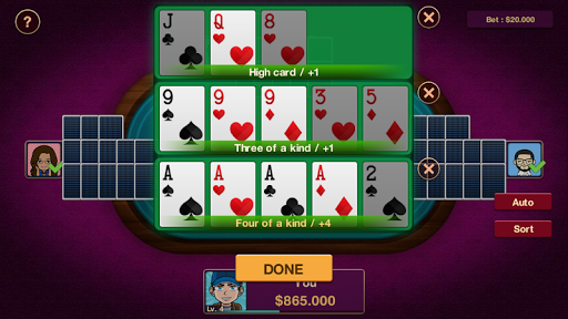 Chinese Poker Offline 1.0.2 screenshots 13