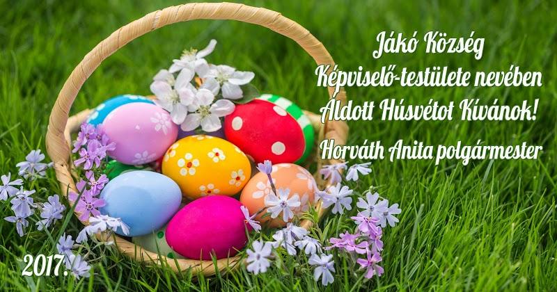 Áldott Húsvétot 2017