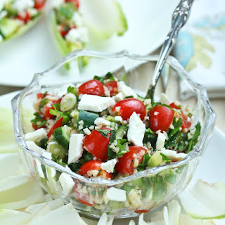 Tabouli with Feta and Endive