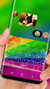 Rainbow Keyboard Colorful Emoji - náhled