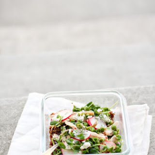 High Protein Red Quinoa Salad