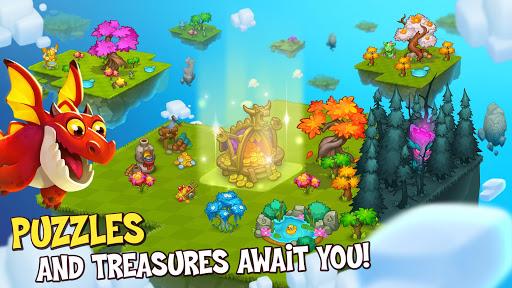 Merge World Above: Merge games Puzzle Dragon 4.0.5615 screenshots 13