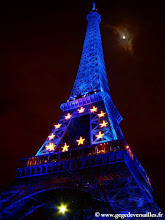Photo: #013.1-La Tour Eiffel, la nuit