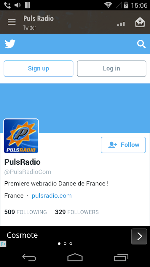 Puls Radio- screenshot