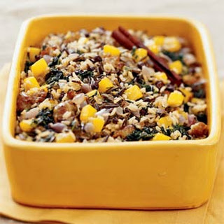 Wild Rice and Squash Dressing