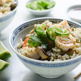 One-Pot Shrimp and Coconut Rice.