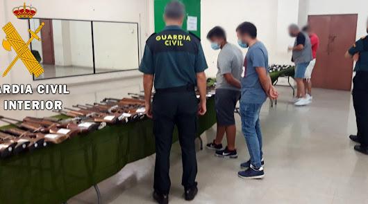 La Guardia Civil realiza una subasta de armas el lunes 29 de junio
