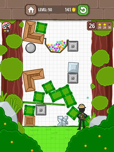 Catch the Treasure - Remove blocks 1.3.7 screenshots 11