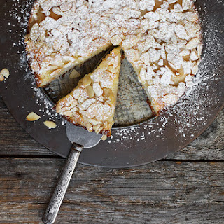 Italian Pear Almond Cake Recipe