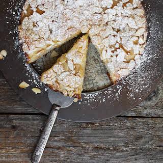 Italian Pear Almond Cake.