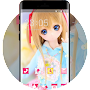 Doll theme colorful brilliant cute emotion APK icon