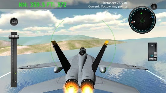 Fly Airplane F18 Jets- screenshot thumbnail