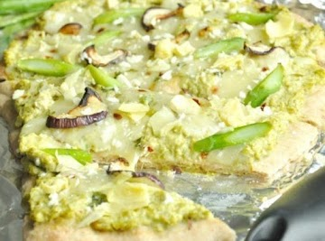 Go Green Veggie Pizza Recipe