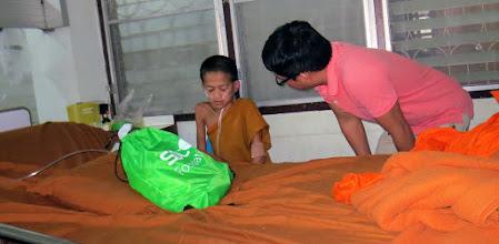 Photo: Mai Ai Hospital Wi with Somjit