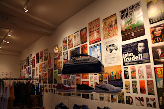 Photo: Shoes, and social activism posters byhttp://designaction.org/