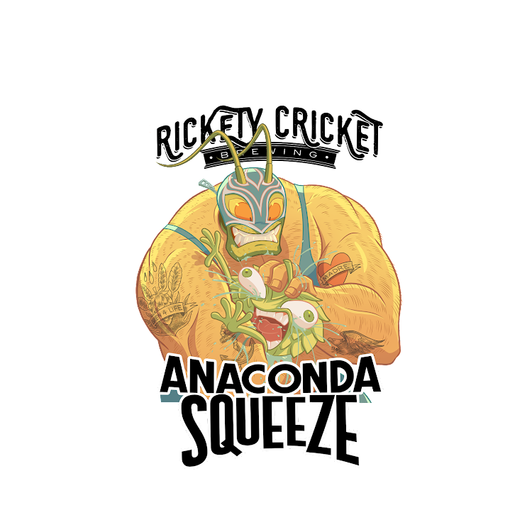 Logo of Rickety Cricket Brewing Anaconda Squeeze IPA