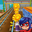 Subway Ladybug Run Surf World Adventure icon