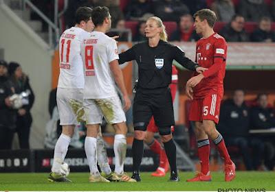 La seule femme arbitre de Bundesliga range le sifflet