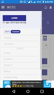 IRCTC Railway Schedule App Download For Android 2