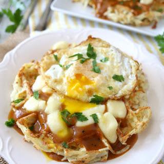 Poutine Hash Brown Waffles