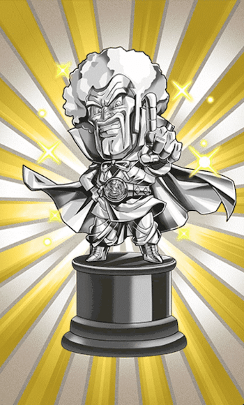 150万ゼニーの価値・ミスター・サタン像