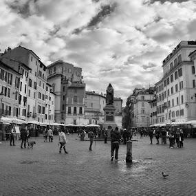 Giordano Bruno (ROMA) by Nuccio Garilli - Uncategorized All Uncategorized
