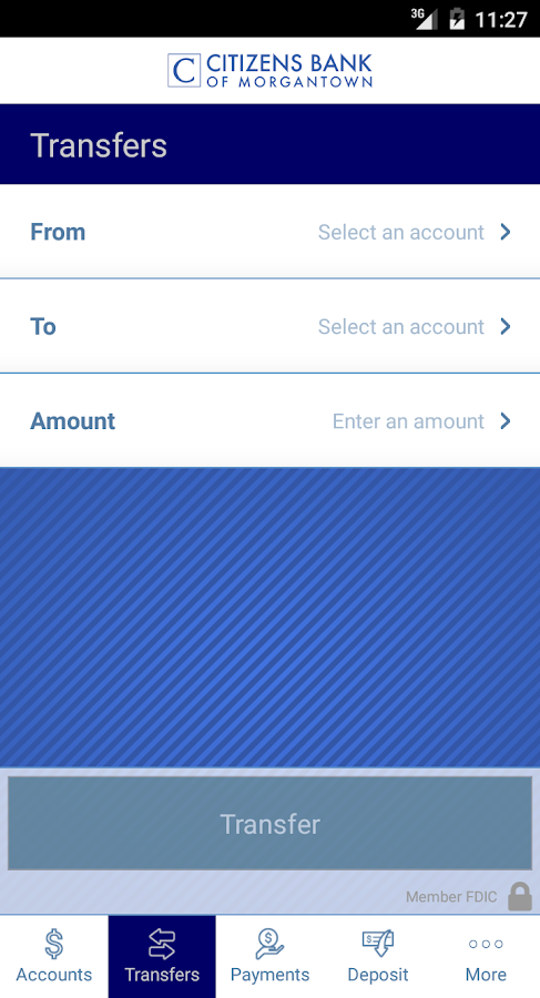 Citizens Bank MorgantownMobile- screenshot