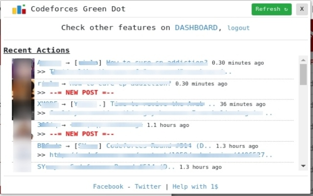 Codeforces_Green_Dot