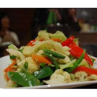 Stir Fried Vegetables.