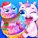 Unicorn Snow Cone - Rainbow Princess icon