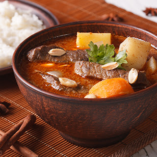Slow Cooked Massamam Curry.
