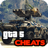 Cheats for GTA 5 - Xbox, PS4, PS3, PC, Phone APK Icon