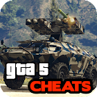 Cheats for GTA 5 - Xbox, PS4, PS3, PC, Phone icon