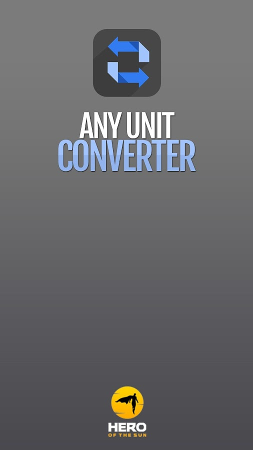 Any Unit Converter- screenshot