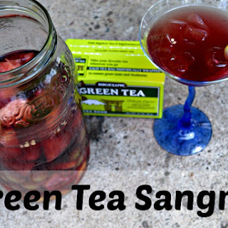 Green Tea Sangria.