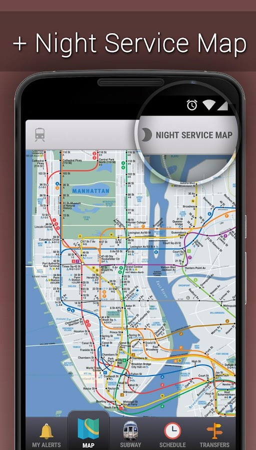 MyTransit NYC: Subway,Bus,Rail- screenshot