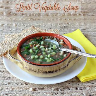 Lentil Vegetable Soup.