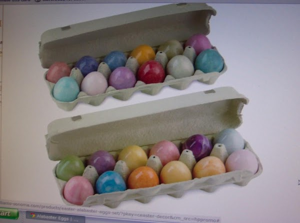 Eggs in picture # 3 are alabaster eggs, I purchased in Coblenz, Germany in...
