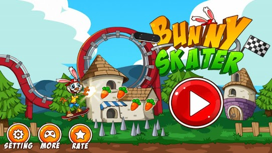 Bunny Skater App Download For Android and iPhone 6