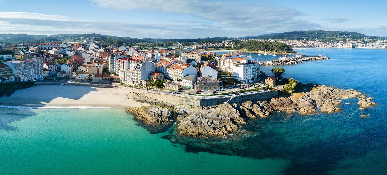 Playa de Caneliñas en Portonovo, Pontevedra