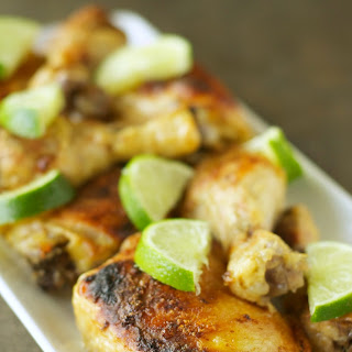 Slow Cooker Coconut Lime Chicken.