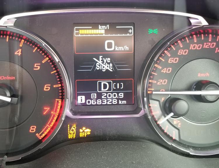 WRX S4 の警報,連日の猛暑,昼下がりの車内に関するカスタム&メンテナンスの投稿画像2枚目