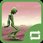 Green Alien Dance - Nuevas figuras de baile icon