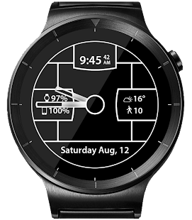 Carbon Fiber HD Watch Face- screenshot thumbnail